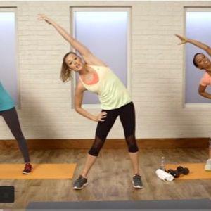 30 -Хвилинний тренування всього тіла. Спалюємо калорії!