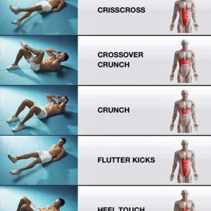 5 Вправи для підтяжки м`язів живота