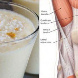 Ананасово-коричнева смузі зміцнює колінні зв`язки і сухожилля