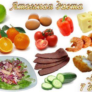 Атомна дієта і в чому її суть!