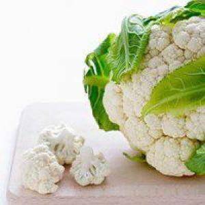 Білі овочі не менш корисні, ніж різнокольорові