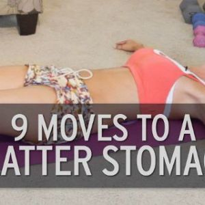 Завдяки цим 9 вправ для живота. Жир на животі та стегнах буквально тане!