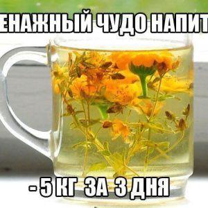 Чудо-напої допоможуть вам у боротьбі із зайвими кілограмами, набряками і целюлітом.