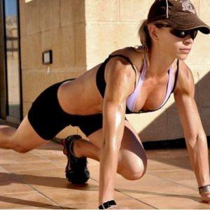 Дарина лисичин - жиросжигающая тренування