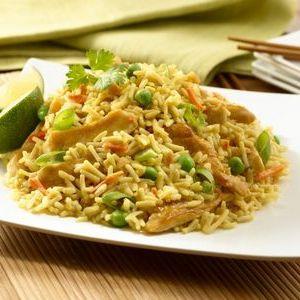 Дієта рис, курка, овочі