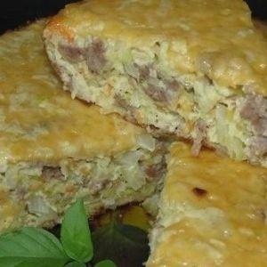 Дієтична запіканка з капусти з м`ясом - прекрасний пп обід або вечерю
