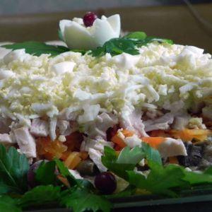 Дієтичний салат меркурій для схуднення