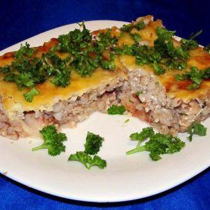 Дієтичний вечерю: запіканка гречана з рибою