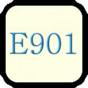 Е901 (бджолиний віск, білий і жовтий)