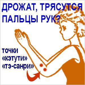 Якщо тремтять або трясуться пальці рук