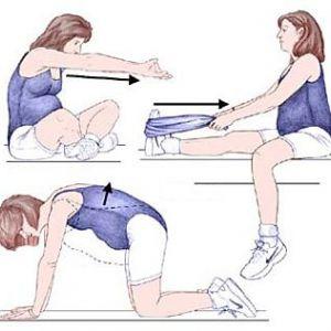Гімнастика для вагітних в домашніх умовах