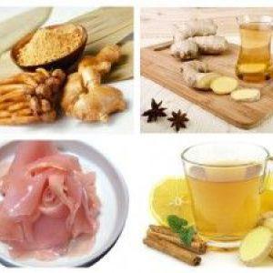 Імбир для схуднення - відгуки, рецепт, властивості
