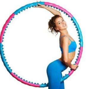 Цікаві вправи з хулахуп для схуднення