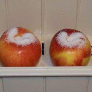 Яблука в пароварці