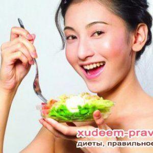 Японська дієта меню на тиждень