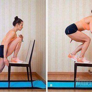 Ефективна тренування зі стільцем