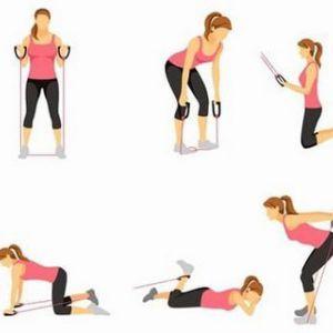 Еспандер для грудних м`язів вправи для чоловіків і жінок