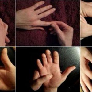 Цей простий масаж пальців змусить біль зникнути! Дивіться як