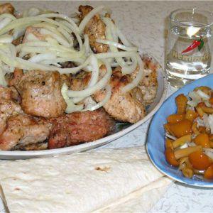 Як маринувати шашлик зі свинини в кефірі