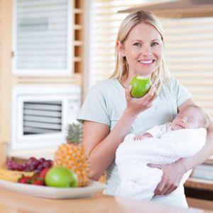 Як схуднути після пологів мамі, що годує