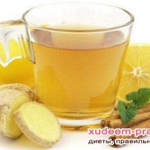Як схуднути за допомогою імбирного чаю