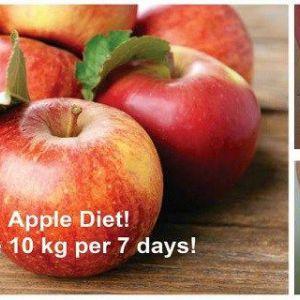 Як втратити 10 кг за 7 днів за допомогою цієї неймовірної яблучної дієти ?!