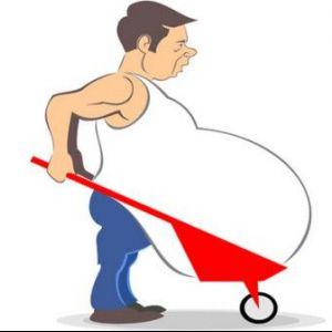 Як прибрати зайвий жир з живота