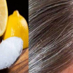 Кокосове масло і лимон - комбінація, яка рятує від сивини!