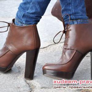 Комфортні жіночі черевики. Як вибрати?