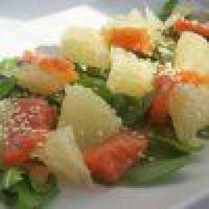 Корейська салат з помело