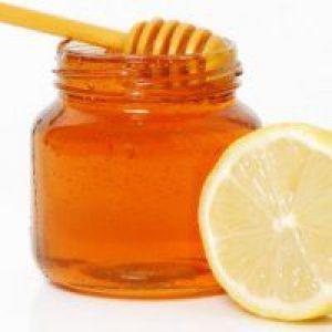 Лимон і мед для схуднення вранці