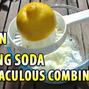 Лимон і харчова сода: чудотворна комбінація
