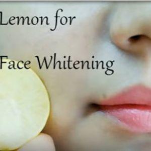 Лимон допоможе вам відбілити шкіру за допомогою цих двох інгредієнтів!