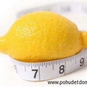 Лимонна вода для схуднення. Рецепт простого приготування.