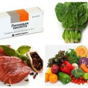 Ліпоєва кислота - для схуднення, користь, застосування, протипоказання