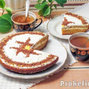 Морквяний торт - класичний рецепт на кефірі