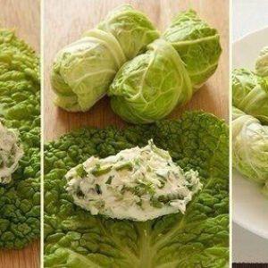 Нереально корисне і низькокалорійне блюдо: пекінська капуста з начинкою