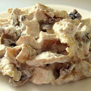 Низькокалорійний салат «білковий» - суцільні білки!