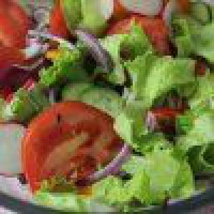 Овочі з кетчупом