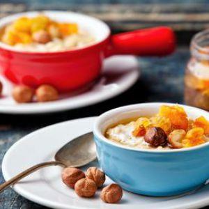 Вівсянка - калорійність 100 грам, тарілки готової вівсяної каші