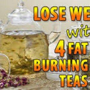 Схуднення завдяки цим 4 жироспалюючим чаїв