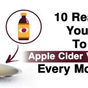 Після прочитання ви почнете пити яблучний оцет щоранку!