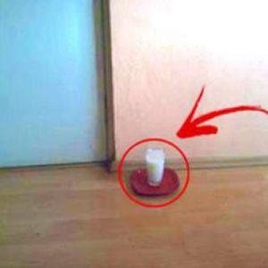 Поставте склянку води з сіллю і оцтом в будь-яке місце у вашому будинку - і ви не повірите, що станеться через добу!