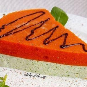 Пп-десерт: сирно-гарбузово-шпинатний чізкейк без випічки!