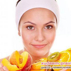 Правильне харчування для здорової шкіри