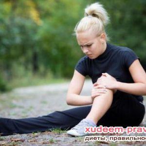 Причини болю в колінному суглобі