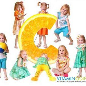 Застосування аскорбінової кислоти в дитячому віці
