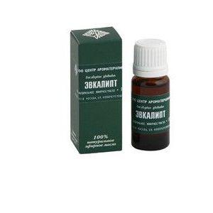 Застосування ефірного масла і листя евкаліпта для інгаляцій