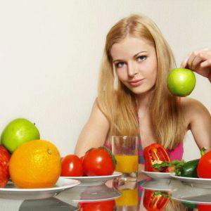 Приклад меню правильного харчування для жінок