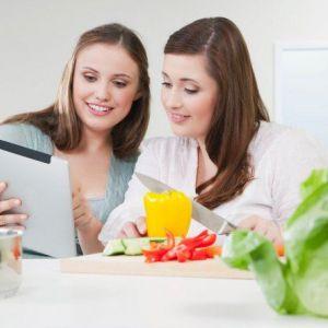 Приклад правильного харчування для дівчат